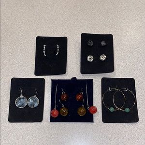 Jewelry - Earrings- 8 sets